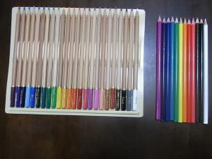 色鉛筆新品 24色&12色