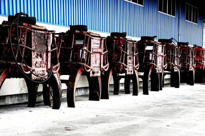 2010 10 09 藤原埠頭 機械