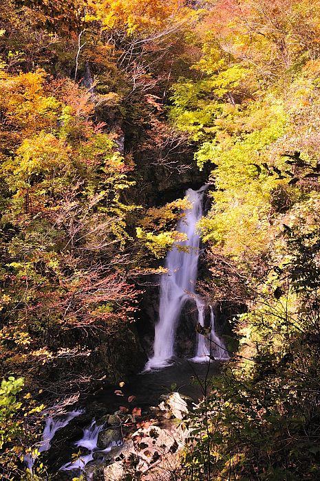 宮古市 小松倉の滝 2010 秋