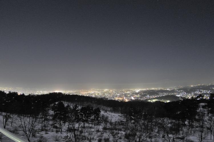 もりおかの夜景