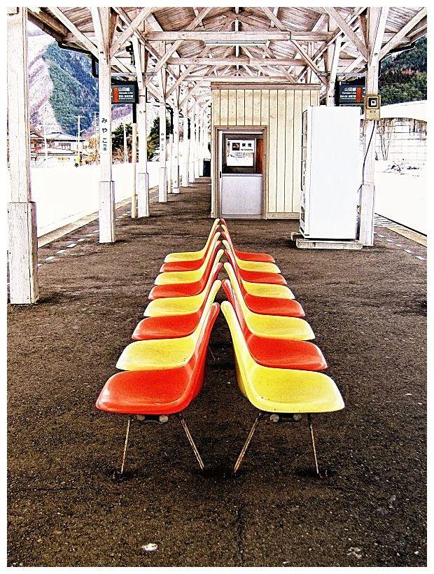JR茂市駅 ホーム