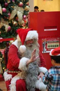 2011-12サンタが羽田にやってくる2