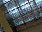 都市センターホテルの天井オブジェ