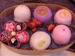 和菓子の詰め合わせひな祭りモード