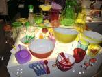 調理器具の展示
