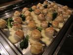 舌平目と海老ムースのロートロ 柚子味噌オランデーズ