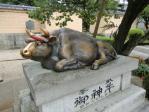太宰府天満宮の神牛