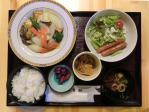 鯖の甘酢あんかけ定食