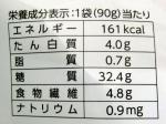 むき栗の栄養成分