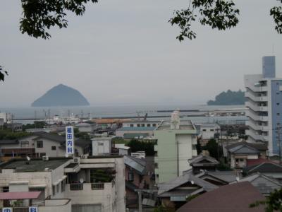 臼杵湾を望む