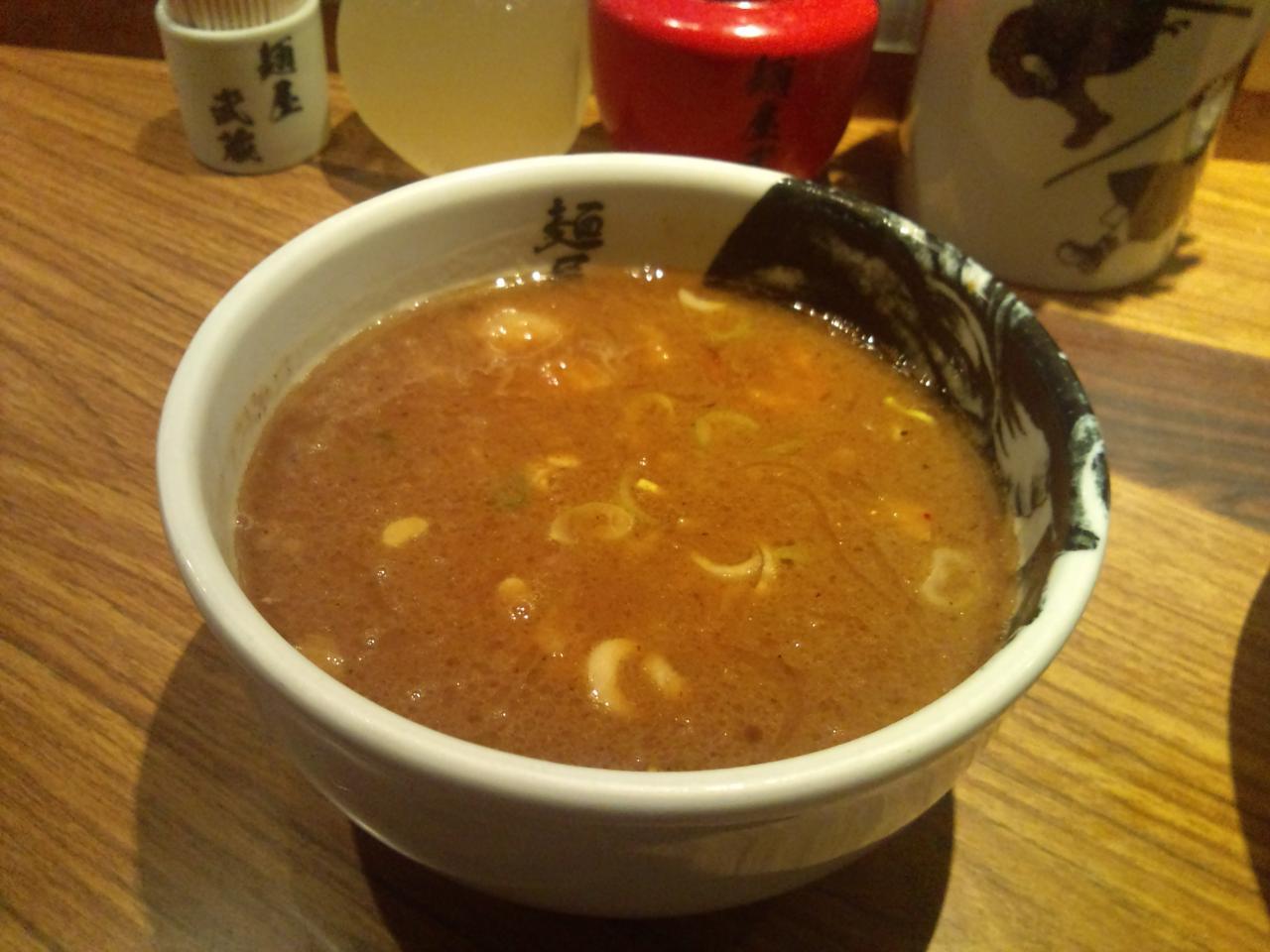 麺屋武蔵虎洞(濃厚角煮つけ麺特盛)