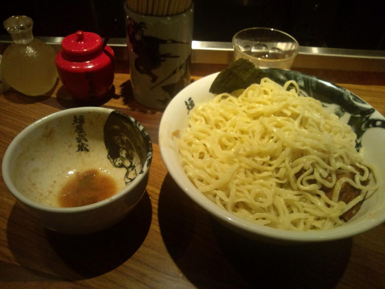 麺屋武蔵虎洞(濃厚角煮つけ麺特)
