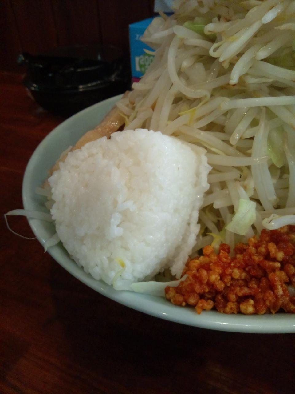 らーめん朗朗朗吉祥寺店(つけ麺特盛野菜増し増し)