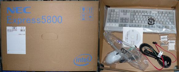 S70タイプ RBの箱と添付品