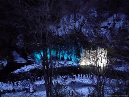 秩父市大滝 三十槌(みそつち)の氷柱 20100206
