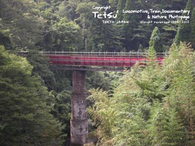 20120926養老渓谷・鉄橋