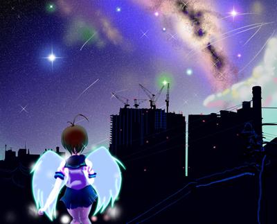 400 東京夜空(完成 TAKE2)