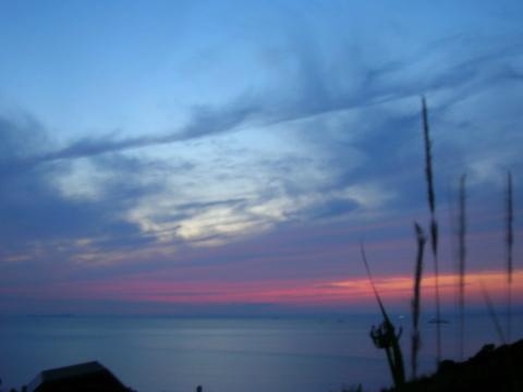 夕陽 6・22