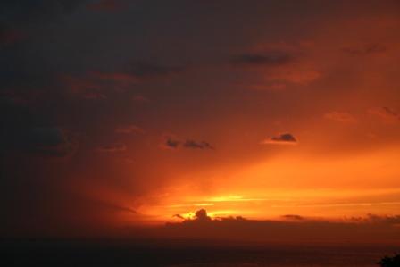 淡路島 ペンション 夕陽