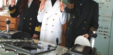 船長コスプレ・・・