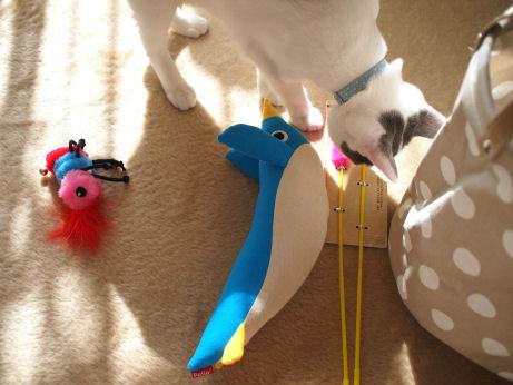 猫用おもちゃ
