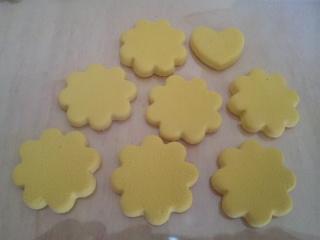クッキー 黄土色