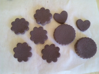 クッキー チョコ ハーティ&ふわふわムース