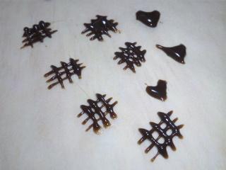 チョコ細工 格子 1