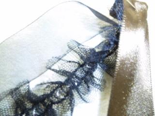 リボン シュシュ ゴムで縫う 1-5