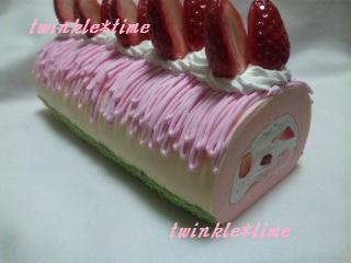 いちごロールケーキ 1-2