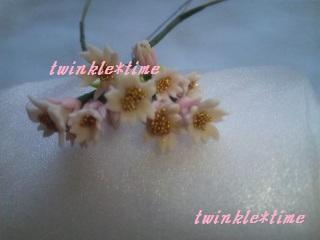 クレイフラワー 桜 1-1