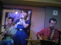 KIMIYOのライブにて