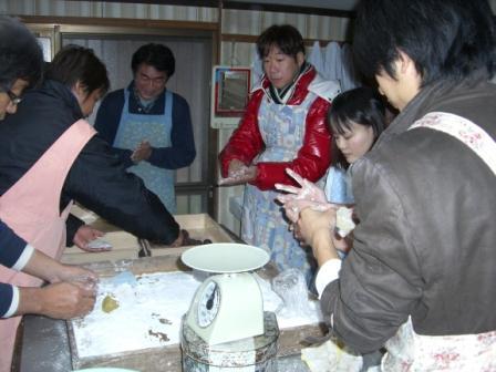 かんころ餅作り体験