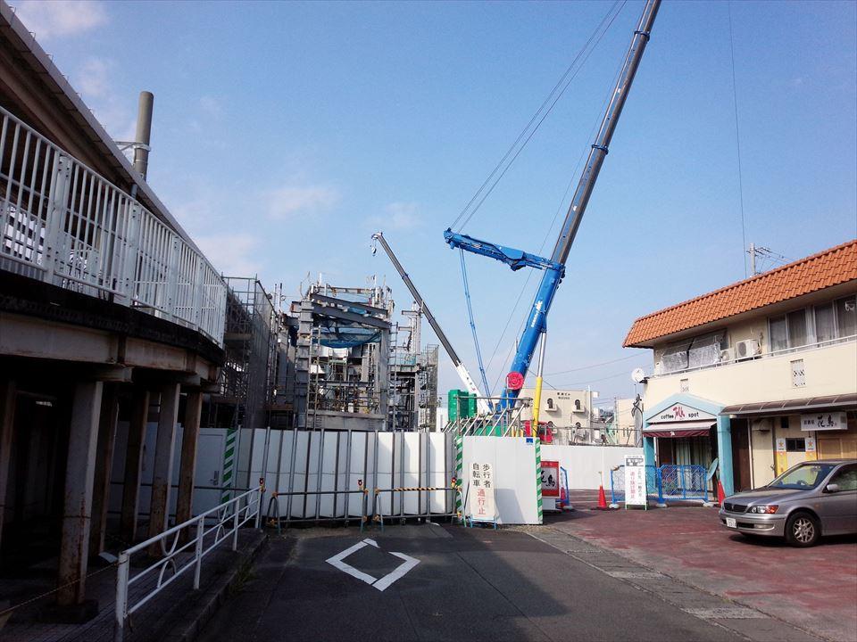 建設中@静岡