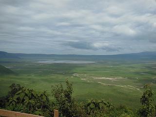 雨期のンゴロンゴロ1