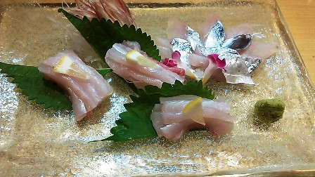 太刀魚刺身