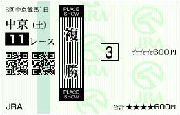 2012 金鯱賞 複勝