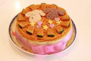 海ママ特製スペシャルケーキ