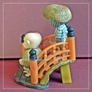 ゲゲゲの鬼太郎 水木しげる 妖怪道五十三次ビネットフィギュア「日本橋」~首途の景~