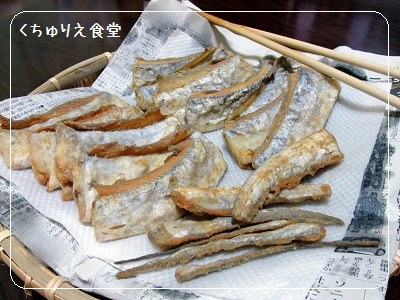 太刀魚(たちうお)の竜田揚げ