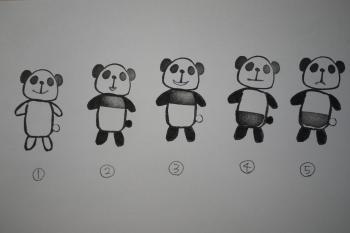 10/10パンダはんこ