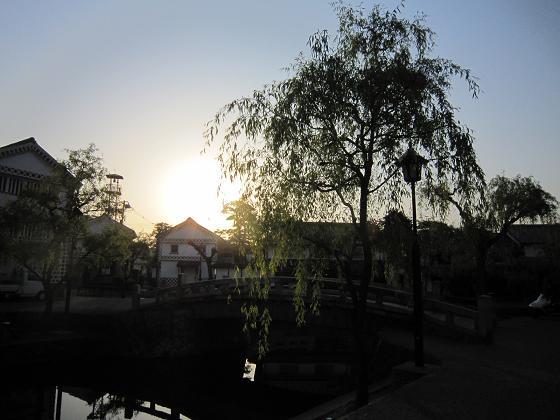 夜明けは倉敷にいました。