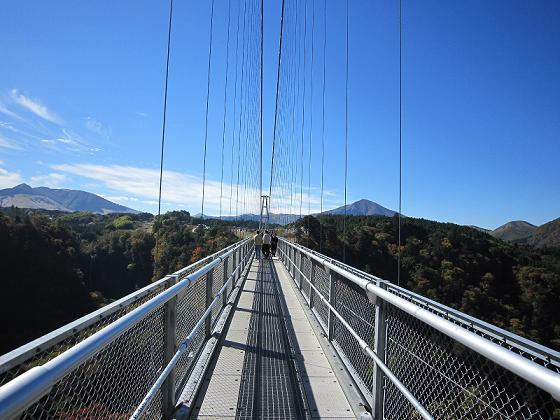 吊り橋、一枚だけ載せとくか・・・