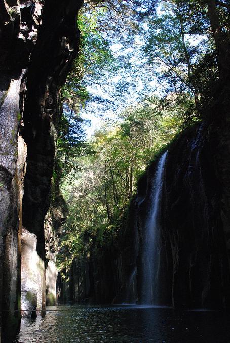 有名な真名井の滝だそうです