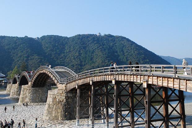 錦帯橋もみたよ。
