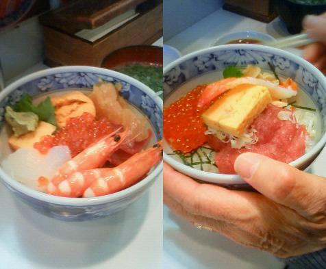 海鮮丼、おいしかった~