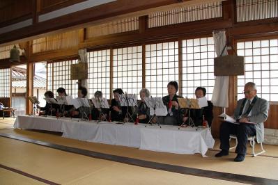 2010.4.10.「能救山岩屋寺、花祭り」、13