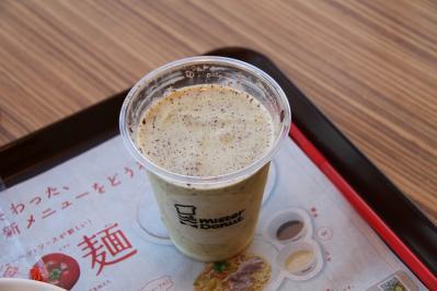 ミスタードーナツ、シェイク「チョコ・抹茶・ファジ」2010.5.、1