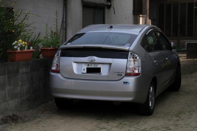 2010-05-04_EOS 7D_0756「豊田ナンバーのトヨタ車・プリウス」、