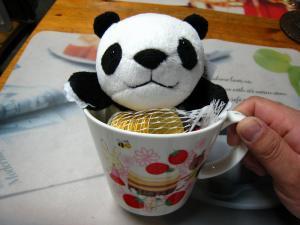 2010.、Valentine day、『扶実子ちゃんよりのチョコ』、「ハンプティー・ダンプティー」、縫い包み・コインチョコ・ダブルスープカップ、2